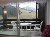 location appartement la Clusaz vue montagne Aiguille Verte