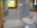 location appartement meubles BEL ALP8 La Clusaz salle de bains