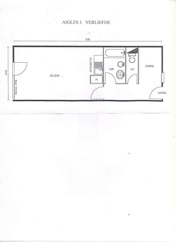 plan de l'appartement aigles-1- centre-village-lalusaz-17767